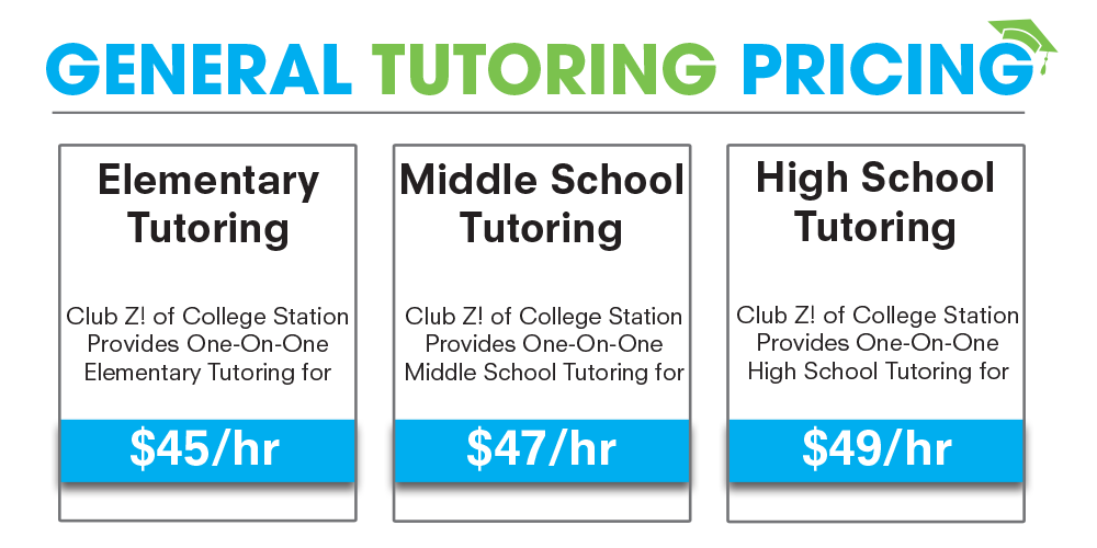 college station tx tutoring pricing